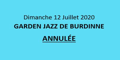 La Garden Jazz de Burdinne - ANNULEE